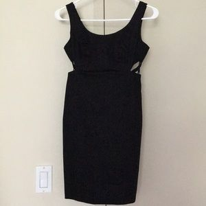 NWT - little black dress with cutouts in back